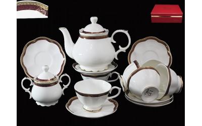 225-008 чайный сервиз 16 предм ШАРКОН