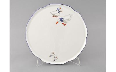 Тарелка для торта 28см 03116015-0807 Гуси, Leander