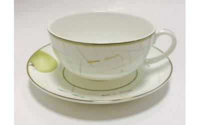 """JDWX1601-8 Чашка с блюдцем 350мл  """"Семильон"""" JDWX1601-8"""