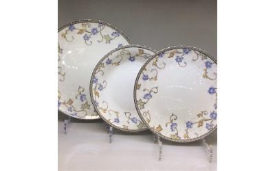 """Набор тарелок 18 предметов на 6 персон  """"Грация"""" JDYSQH-2, Japonica"""