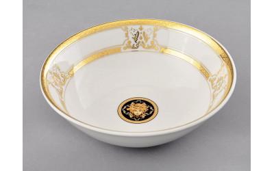 Салатник 16см 02111413-A126 Версаче золотая лента, Leander
