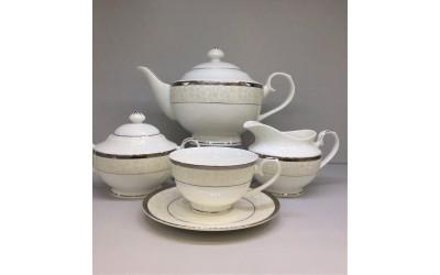 """Сервиз чайный 17 предметов на 6 персон """"Фреска"""", Japonica"""