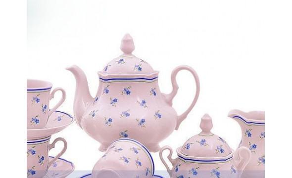 Сервиз чайный 15 предм 03260725-0887 Мэри-Энн Синие цветы, Leander