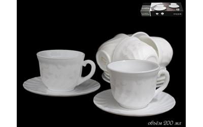 116-004 чайный набор 12пр. СЕРЫЙ ШЕЛК