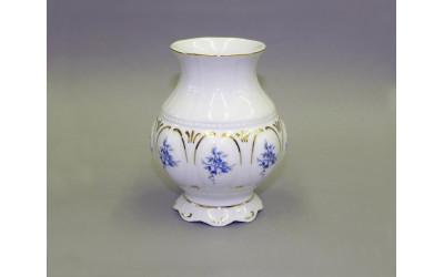 Ваза 12см 07118212-0009 синие цветы, Leander