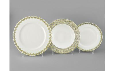 Набор тарелок 18предм.с тарел.дес. 19см 02160129-2328