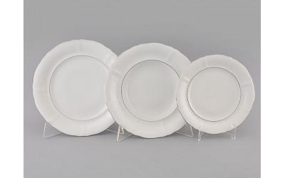 Набор тарелок 18предм.с тарел.дес. 19см 07160119-1138