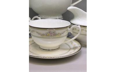 Сервиз чайный 17 предметов на 6 персон Нежность PL-4143-4, Japonica
