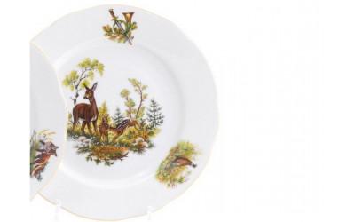 Тарелка для торта 28см 03116015-0363 Мэри-Энн, Охота, Leander