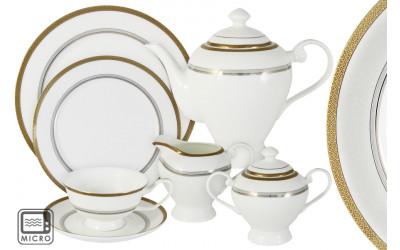Чайный сервиз Очарование 40 предметов на 12 персон