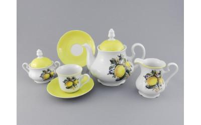 Сервиз чайный 15 предм 03160725-2411 Мэри-Энн Лимоны, Leander