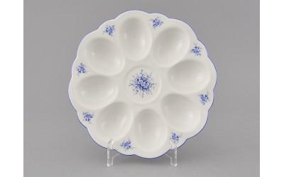 Поднос для яиц 20112455-0009 синие цветы, Leander