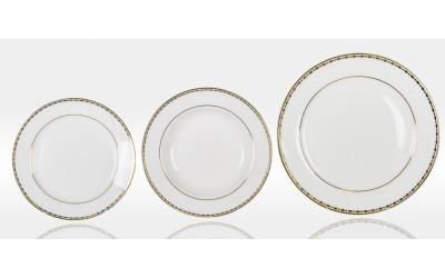 Набор тарелок 6/18 Свадебный EMGD-4053P Gyem-2