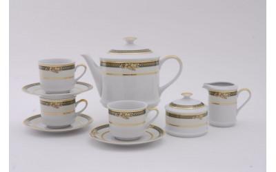 Сервиз чайный 15 предм. 07160725-0711 Золотые фрукты, Leander