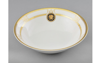 Салатник 23см 02111416-A126 Версаче золотая лента, Leander