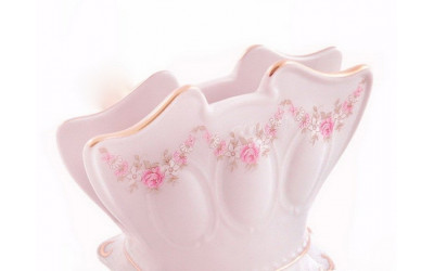 Подставка для салфеток 8,5см 07214621-0158 Верона, Мелкие цветы, отводка золото, Leander