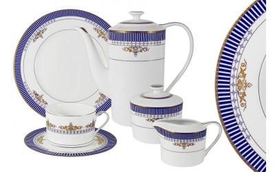 Чайный сервиз Флагман 21 предм.на 6 персон