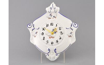 Часы настен. гербовые 27см 20198125-0807 Гуси, Leander