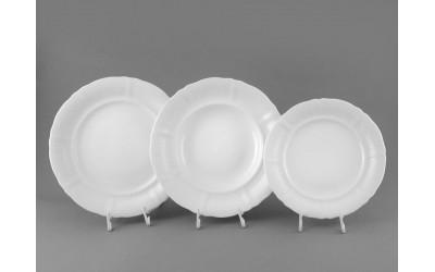 Набор тарелок 18 предм. с т. дес. 19см