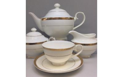 """Сервиз чайный 17 предметов на 6 персон """"Золото"""", Japonica"""