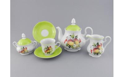 Сервиз чайный 15 предм 03160725-2412 Мэри-Энн Спелые яблоки, Leander