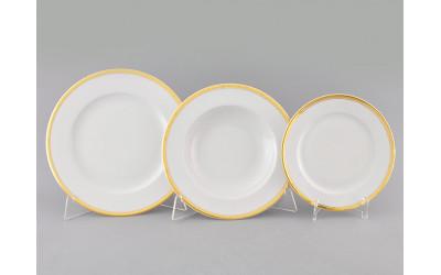 Набор тарелок 18 предм. с т.дес.19 02160129-0511