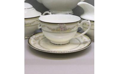 Набор чашек на 6 персон Нежность PL-4143-5, Japonica