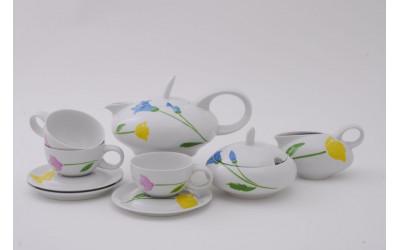 Сервиз чайный 15 предм. 42160725-1036 Весенний букет, Leander