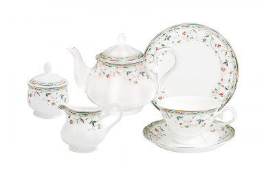 Чайный сервиз Флориана 21 предмет на 6 персон