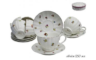 105-052 чайный набор 12пр.ПОЛЕВЫЕ ЦВЕТЫ