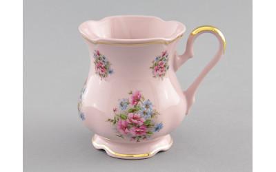 Кружка 0,25л 03214013-0013 Соната Розовые цветы, отводка золото, Leander