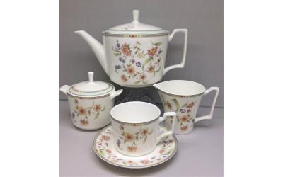 """Чайный сервиз на 6 персон """"Асэми"""" JDWX017-4, Japonica"""