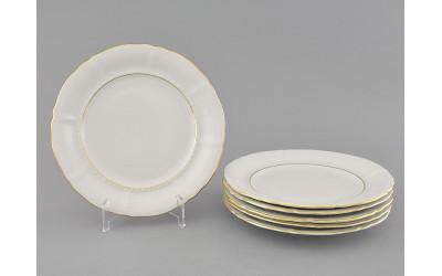 Набор тарелок десертн. 6шт. 17см 07160317-1139 Соната Отводка золото, Leander