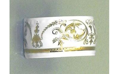Кольцо для салфеток большое 07514612-1373 Соната Золотой орнамент, отводка золото, Leander