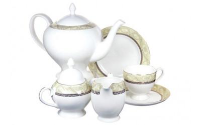 Чайный сервиз Романтика 21 предмет на 6 персон