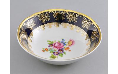 Салатник 16см 03111413-0086 Мелкие цветы, кобальтовый борт, Leander
