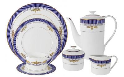 Чайный сервиз Флагман 40 предметов на 12 персон