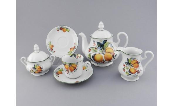Сервиз чайный 15 предм 03160725-2409 Мэри-Энн Абрикосы, Leander