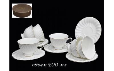 231-006 чайный набор 12предм. 200мл