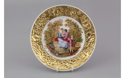 Тарелка декоративная подвесная 21 см 20111144-275B