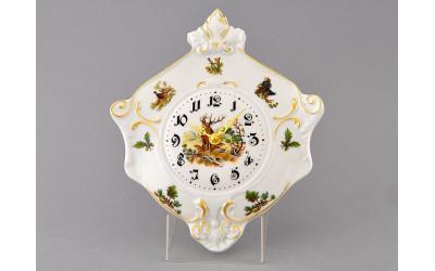 Часы настен. гербовые 27см 20198125-0363 Мэри-Энн, Охота, Leander