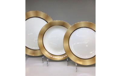 """Набор тарелок 18 предмета на 6 персон""""Сафари"""" JDSSHT-2, Japonica"""