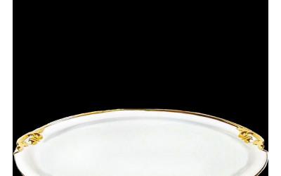 Поднос круглый с ручк. 52см 20111657-2604L
