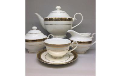 """Сервиз чайный 17 предметов на 6 персон """"Соната"""" EMGD-1574 PL-4, Japonica"""