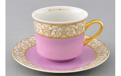 Чашка высокая с блюдцем 0,20л 02120415-234J