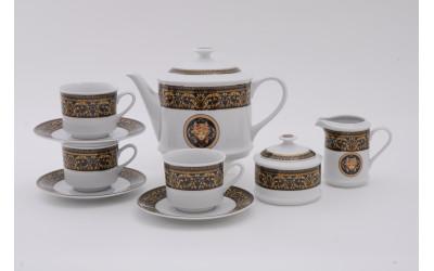 Сервиз чайный 15 предметов Версаче, Leander