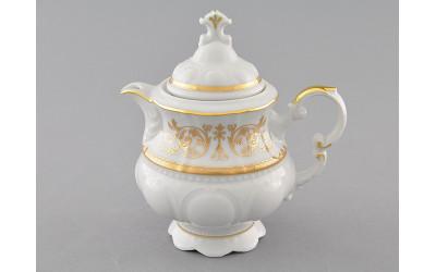 Чайник 0,35л 07120724-1373 Соната Золотой орнамент, отводка золото, Leander