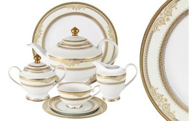 Чайный сервиз Эльмира 42 предмета на 12 персон