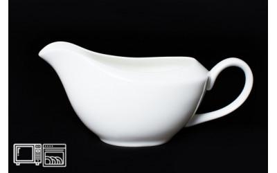 Соусник 20/9 см Белый, костяной фарфор