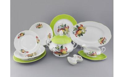 Сервиз столовый 25 предм. 03162011-2412 Мэри-Энн Спелые яблоки, Leander